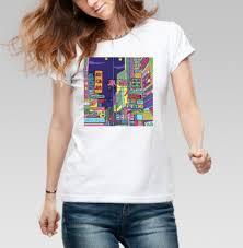 Купить красивые <b>женские футболки</b> с рисунками в интернет ...