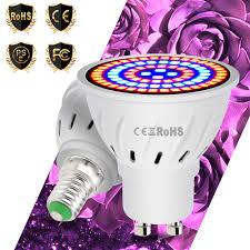 <b>Led E27</b> Grow <b>Light</b> 20W Full Spectrum <b>Phyto Lamps</b> E14 AC85 ...