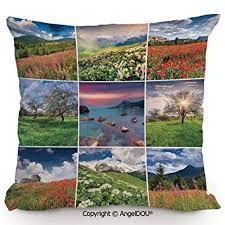 AngelDOU Fashion Sofa Cotton Linen Throw Pillow ... - Amazon.com