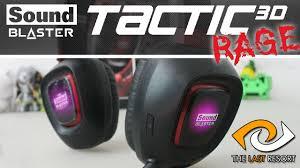 <b>Creative Sound Blaster Tactic3D</b> Rage USB v2.0 Headphones   TLR ...