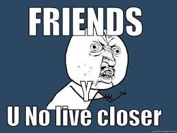 long distance friends - quickmeme via Relatably.com