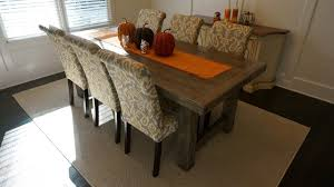 chair dining room tables rustic chairs: rustic furniture farmhouse pc dining table waffle back chair set