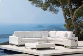 707 4 Pc Red U0026amp White Striped Patio Furniture  Lot 707