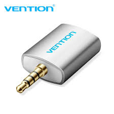 Vention <b>3.5mm</b> Earphone Audio Splitter Connecter With Mic 1 Male ...