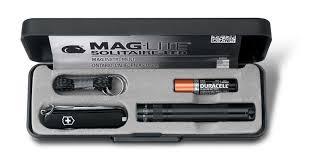 <b>Набор Victorinox нож</b>-брелок + светодиодный фонарь Maglite ...