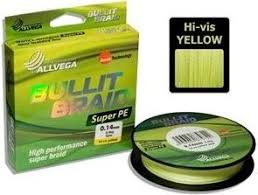 <b>Рыболовная леска ALLVEGA</b> Bullit Braid 135м 0,24 купить за 560 ...