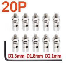 <b>20pcs</b> Pushrod Connectors Linkage Stoppers D1.3mm D1.8mm D2 ...