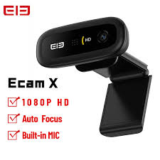 ELE <b>Elephone Ecam X 1080P</b> HD Webcam 5.0MP Auto Focus With ...