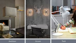 designing your own lighting scheme accent ambient lighting