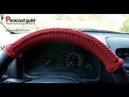 Car tack- paracord <b>steering</b> wheel wrap - YouTube