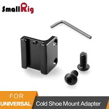 <b>Smallrig Cold Shoe Mount</b> Adapter With 1/4 Threaded Holes For ...