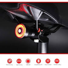 In & Out <b>Smart Bike Tail</b> Light USB Rechargeable Ultra Bright Brake ...