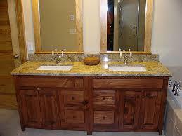 washstand bathroom pine: handcrafted shaker bath vanity vc brown  handcrafted shaker bath vanity