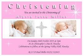 christening invitation idea invitation templates