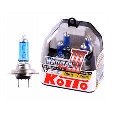 <b>Лампа</b> галогенная <b>KOITO H7</b> Whitebeam 4200K 12V 55W, 2 шт ...