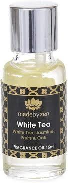 <b>White Tea Signature</b> Scented <b>Fragrance</b> Oil Made By Zen 15ml ...