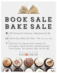 book bake fundraiser to support kids v cancer on book bake fundraiser to support kids v cancer on 30 the village green