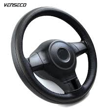 <b>VENSECO</b> sports breathable type steering wheel cover soft leather ...
