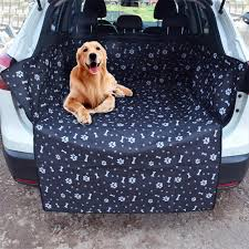Oxford Pet Dog <b>Trunk</b> Cargo Liner Car Suv Van <b>Seat Cover</b> ...