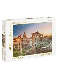 48% Clementoni <b>Пазл</b>. <b>2000 эл</b>. Классика. Италия, Римский форум.