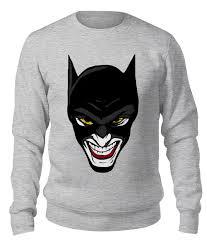 "<b>Свитшот</b> унисекс хлопковый ""<b>Бэтмен</b> и Джокер"" #2659247 от ..."