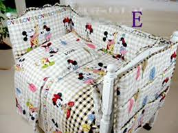 image of mickey mouse baby bedding design baby mickey crib set design