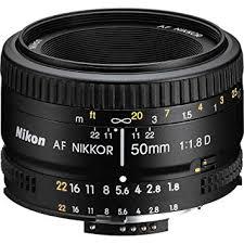 <b>Nikon</b> 2137 <b>50mm f/1.8D</b> Auto Focus <b>Nikkor</b> Lens for <b>Nikon</b>: Amazon ...