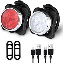 Rechargeable Bicycle Lights - Amazon.co.uk