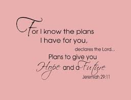 Image result for for i know the plans i have for you wall art