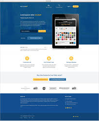 psd website design templates preview for meteorapp website template psd file
