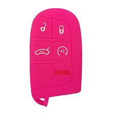 Coolbestda Silicone 5 Buttons Smart Key Fob Remote ... - Amazon.com