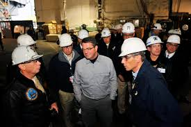 u s department of defense photo essay deputy defense secretary ashton b carter center listens as he tours the aircraft