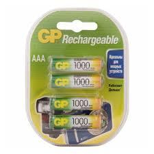 <b>Аккумулятор GP</b> LR03 <b>AAA</b> 1000 mAh (уп 4 шт) — купить в ...