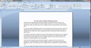 microsoft word 2010 web page templates page layout menu microsoft page layout menu microsoft office word tamil part 1
