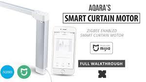 Aqara <b>Smart Curtain</b> Motor (Full Walkthrough) Zigbee) - YouTube