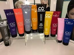 <b>Brelil CC</b> Hair <b>Colour Cream</b>. Restoring rinse off colouring treatment ...