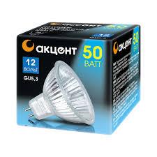 Продаем <b>Лампа галогенная АКЦЕНТ</b> MR16 12V 50W 36° GU5.3 в ...