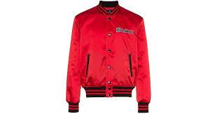 <b>Куртка</b>-<b>бомбер</b> 'red Sox' <b>Marcelo Burlon</b> для него, материал ...