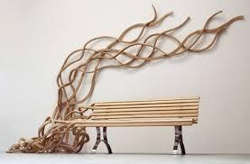 artistic wood bench design artistic furniture