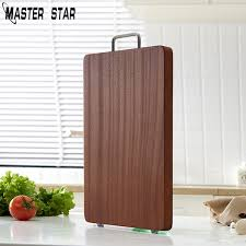 2019 <b>Master Star Black Walnut</b> Wooden Chopping Board Kitchen ...