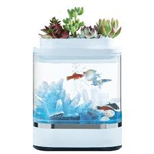 <b>Аквариум Xiaomi Geometric</b> Lazy <b>Fish</b> Tank Белый