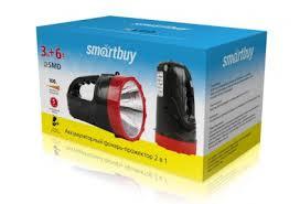 <b>Фонарь</b>-прожектор Smartbuy SBF400-K <b>3W</b>+<b>6</b> SMD ...