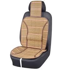 Universal Car Seat Cushion Spring <b>Summer 1 Pc</b> Bamboo Waist ...