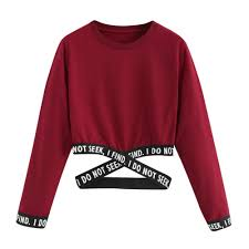 Crop <b>sweatshirt women hoodies winter</b> pullover Harajuku moletom ...