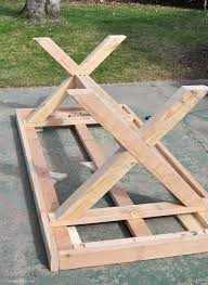 How To Make A Dining Room Table Diy Outdoor Table Outdoor Tables And Rustic Dining Room Tables On