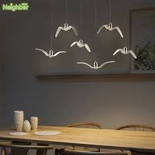 <b>Moderne</b> Led Kroonluchter <b>Lustre Lamp</b> Opknoping <b>Verlichting</b> Wit ...