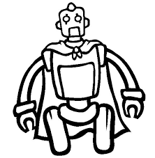 Small Picture 18 besten Robots Coloring Pages Bilder auf Pinterest
