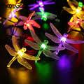 HoozGee <b>Solar</b> String Lights <b>Outdoor</b> Fairy Lamp Multicolor <b>30 LED</b> ...