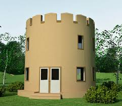 tower design   Earthbag House PlansCastle Tower House  click to enlarge
