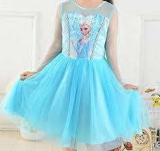 Elsa Dress, Girls Frozen <b>Birthday</b> Dress, Elsa Costume, Princess ...